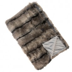 Nocturne Faux Fur Throw 150x200cm