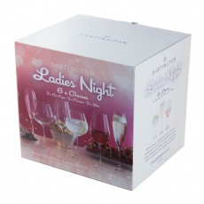 Dartington ladies Night In Copa,Prosecco Wine Pack 6
