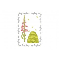 Busy Bee Tea Towel