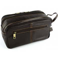 Wash Bag Brown