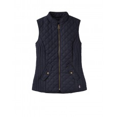 Joules Minx Quilted Gilet Mar Navy