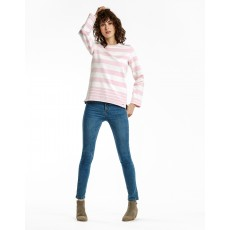 Joules Clemence Striped Crew Neck Sweater CLPKSTR
