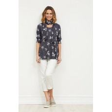 Masai Dacey top Bias long sleeve Navy Org