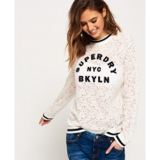 Superdry Lace Tipped Rib Top
