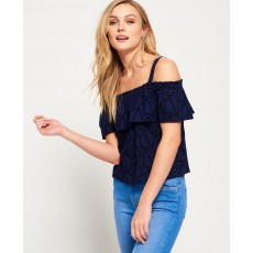 Superdry Mimi Schiffli Top