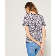 Superdry Tori All Over Lace Top