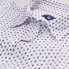Gant Tech Prep Oxford Print Shirt