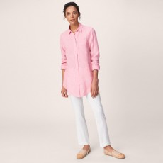 Gant Striped Linen Long Shirt