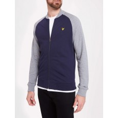 Lyle & Scott Bomber Sweatshirt