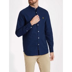 Lyle & Scott Grandad Collar Shirt