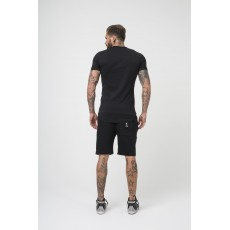 Religion Ringer Tee Black