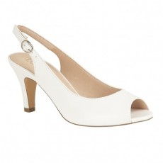 Lotus Sommer White Smooth Shoe