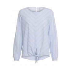 Soya Concept Isidra Blouse Pearl Blue Combi