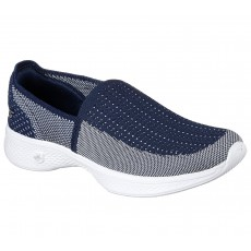Skechers Go Walk4 Ravish Navy White