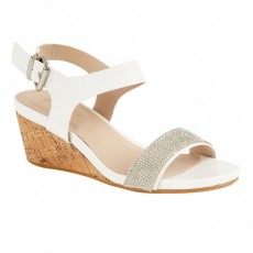 Lotus Ace White/Glitz Shoe