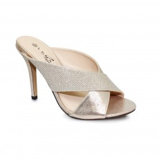 Hallie Gold Metallic Sandal
