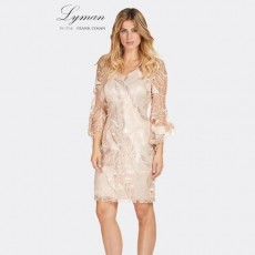 Frank Lyman Dress Nude