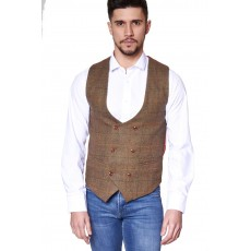 Marc Darcy Nelson Double Breasted Waistcoat