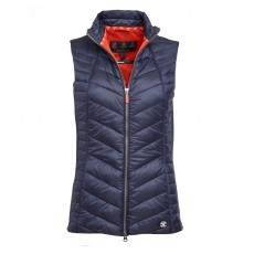 Barbour Penhale Gilet  Navy/Signal Orange