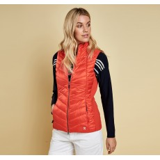 Barbour Penhale Gilet  Signal Orange/Navy
