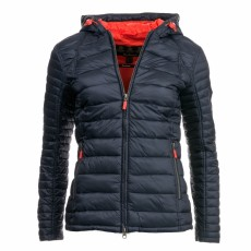 Barbour Heavenfield Navy/Sig Orange