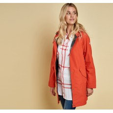 Barbour Hartland Jacket Signal Orange