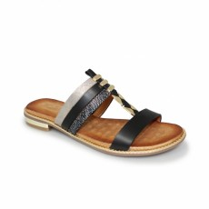 Bellini Black Fashion Sandal