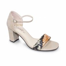 Selene Beige Fashion Sandal
