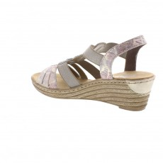 Rieker Illinois Multi Colour Wedges