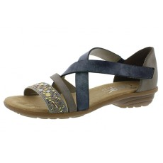 Rieker Sandal Grey Steel