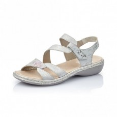 Rieker Space Sandal Ice Off white