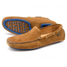 Loake Donington Tan Suede Shoe