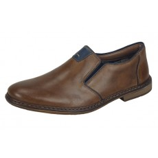 Rieker Slip on Shoe Toffee