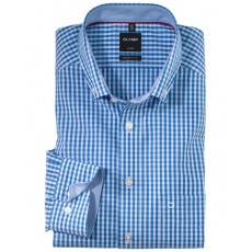 Olymp modern fit Shirt Royal