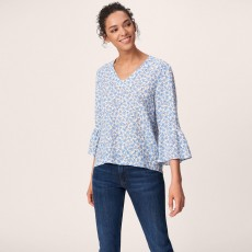 Gant Linked Floral Top