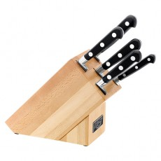 Stellar Sabatier 5pc Knife Block Set