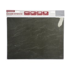 Typhoon Slate 40x30cm Rect Work Surface Protector