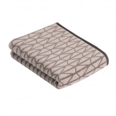 Vossen Vibration Line Bath Towel P.Grey