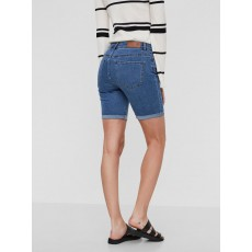 Vero Moda Hot Seven NW Denim Long Short Medium Blue Denim