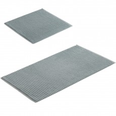 Vossen Highline Bath Mat Shell  60 X 100