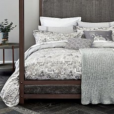 Bedeck Fable Journey Bedding Grey