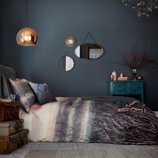 Bedeck Clarissa Hulse Dusk Bedding Indigo/Blush