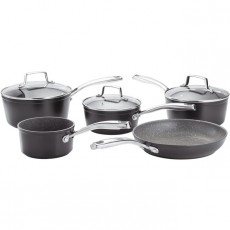 Stellar Rocktanium 5Pc Saucepan Set