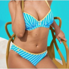 Pour Moi Starboard Padded Halter Underwire Bikini
