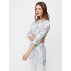 White Stuff  Harper Tunic Seebreeze Blue Print