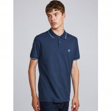 Pretty Green Barton Polo Blue