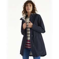 Joules Westport Fleece Lined Waterproof Jacket Marine Navy