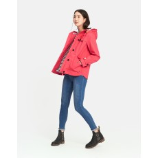 Joules Coast Waterproof Jacket Redcurrant