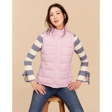 Joules Eastleigh Padded Gilet Soft Lilac