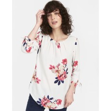 Joules Trisha Shell Top With Tie Sleeve